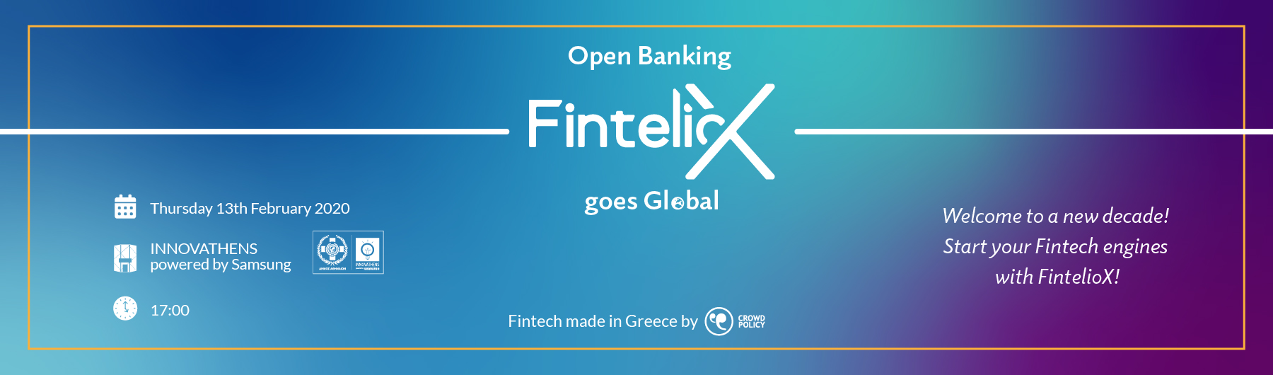 Open Banking FintelioΧ Goes Global powered by Crowdpolicy