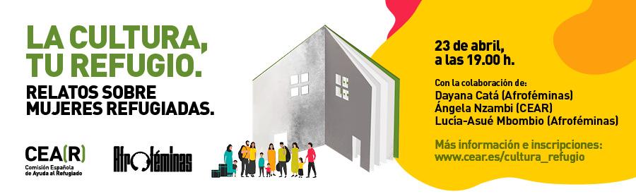La cultura, tu refugio: Relatos sobre mujeres refugiadas