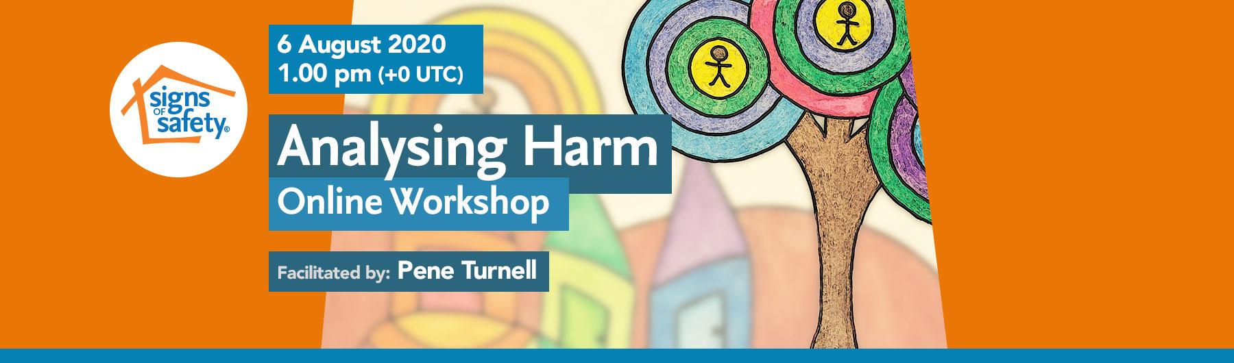 Analysing Harm Online Practice Workshop