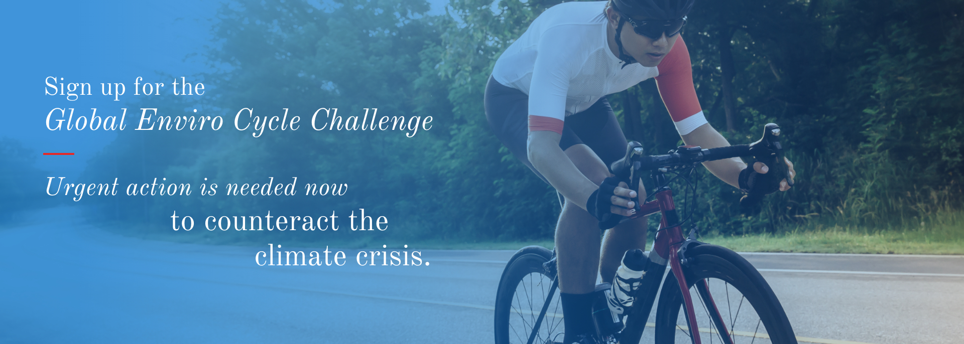 Charity Enviro Cycle Challenge to save the ocean