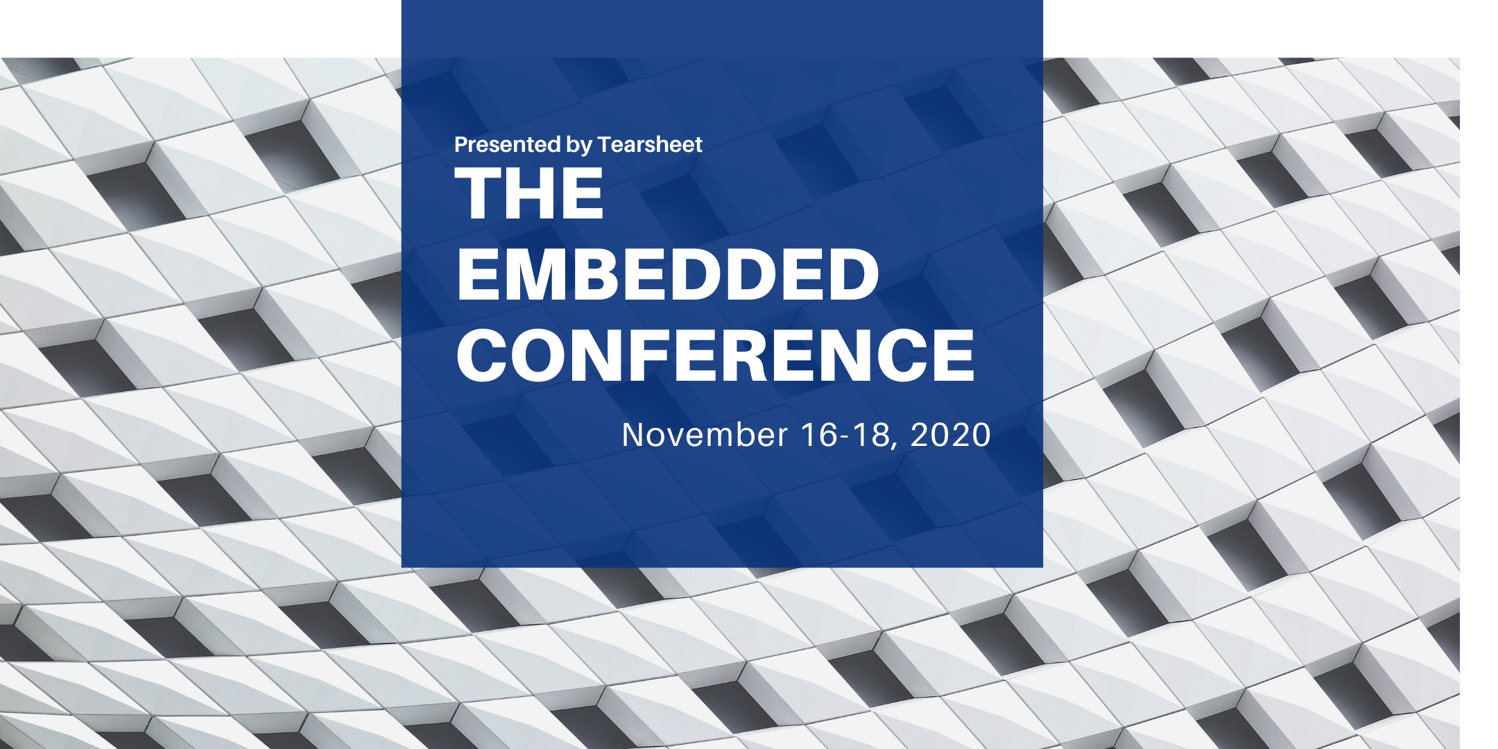 Tearsheet's Embedded Conference 2020