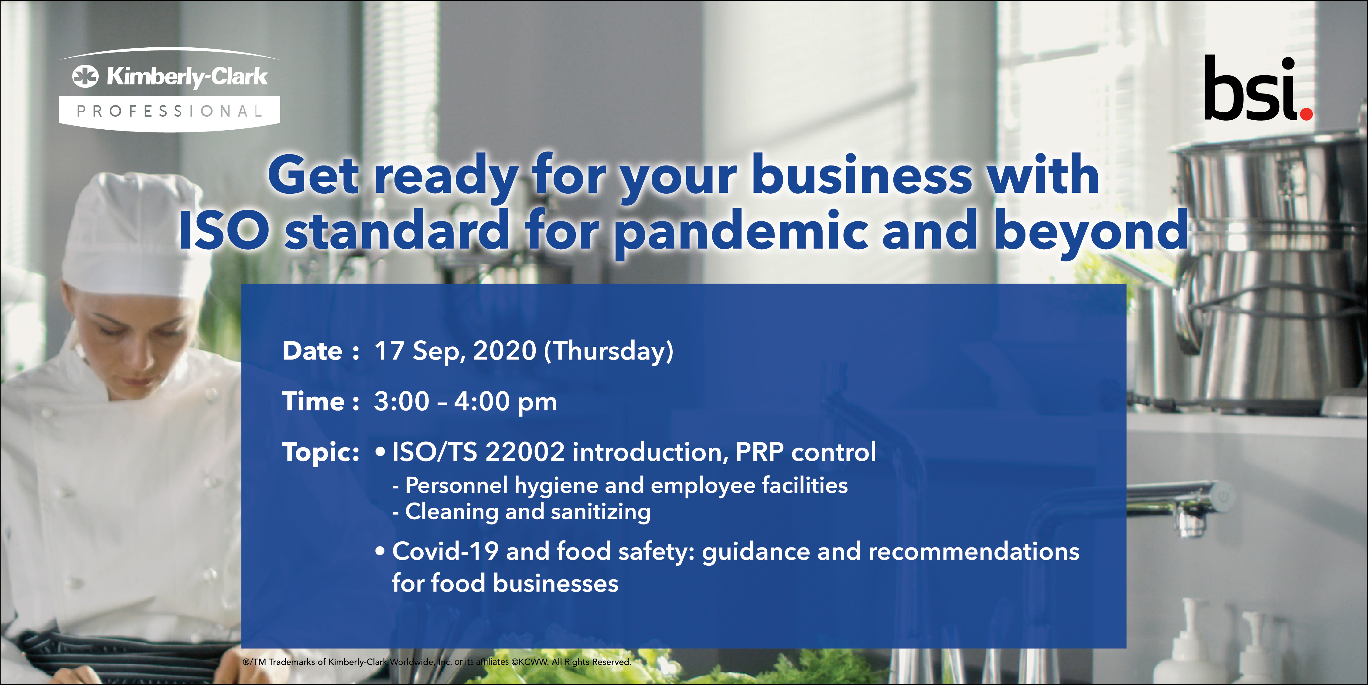 Get ready for your business with ISO standard for pandemic and beyond