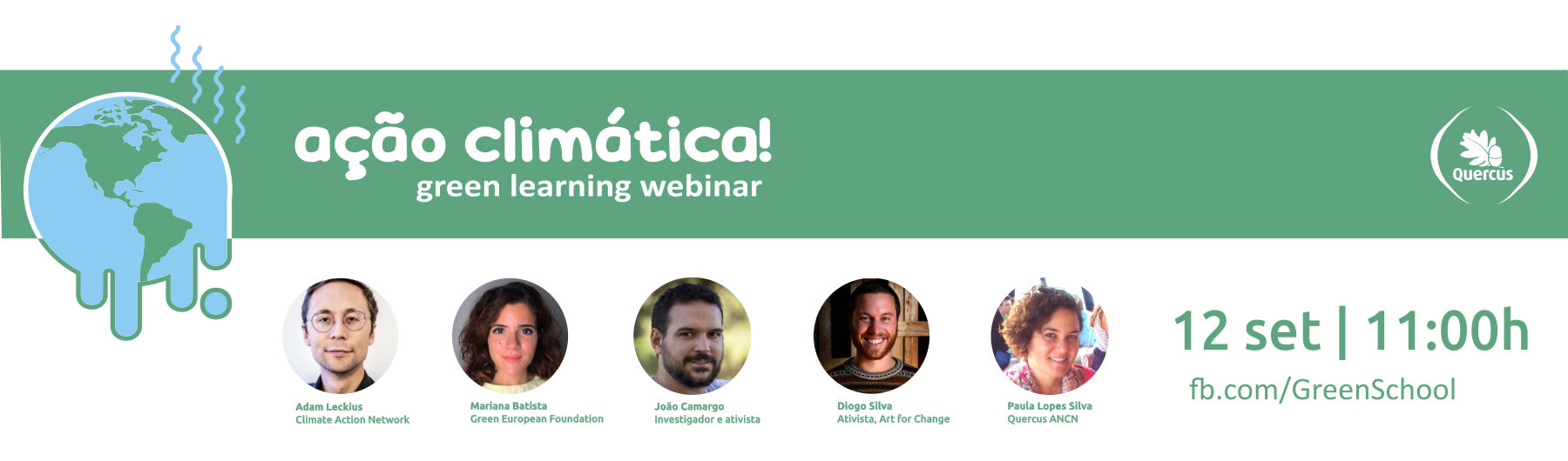 Ação Climática - Green Learning Webinar