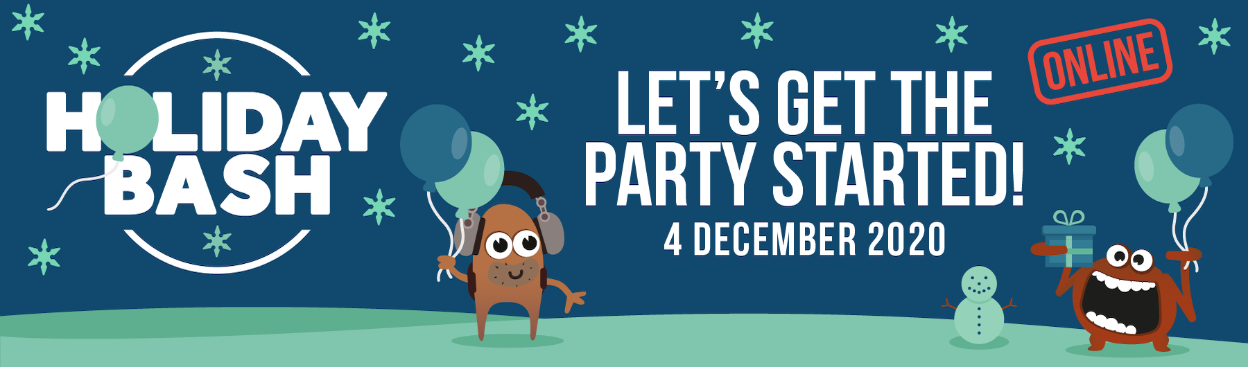 HolidayBash Sponsorship 2020