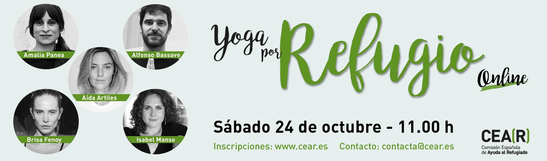 """Practica Jivamukti en """"Yoga por Refugio Online"""""""