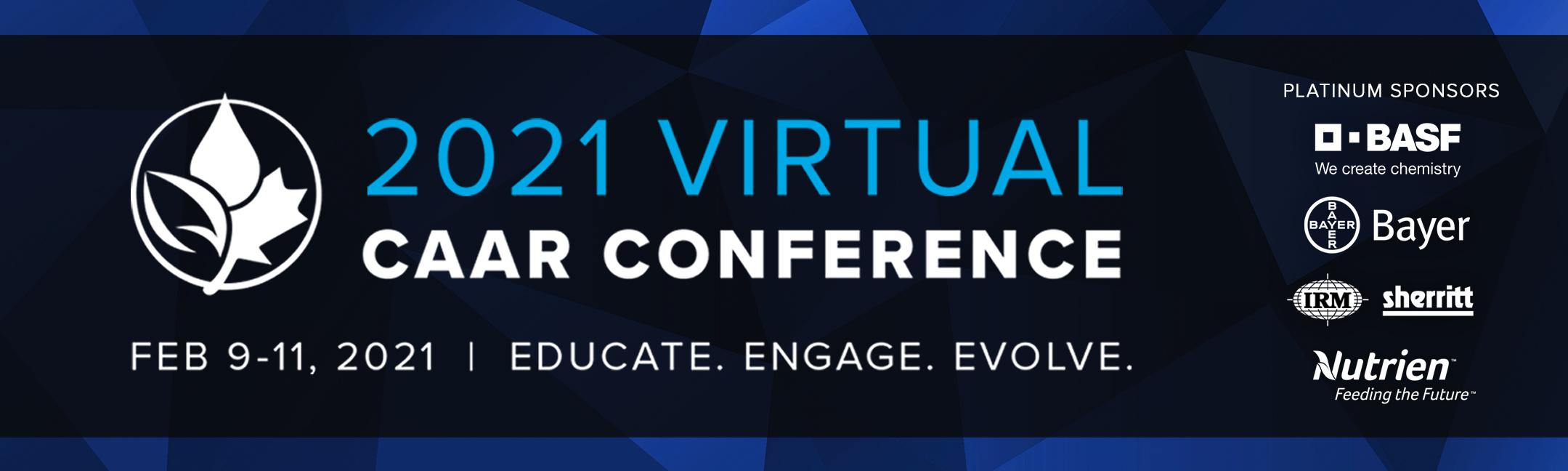 2021 Virtual CAAR Conference