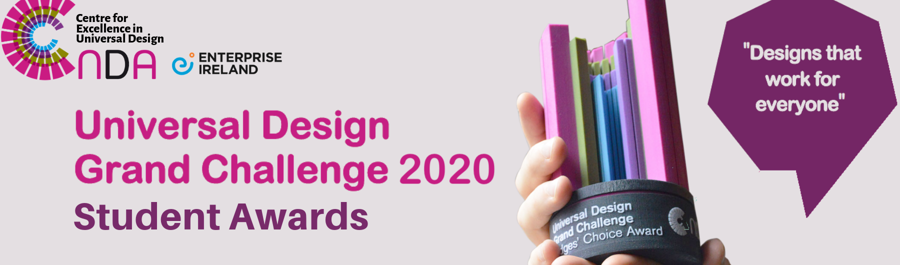 Universal Design Grand Challenge 2020 Student Awards
