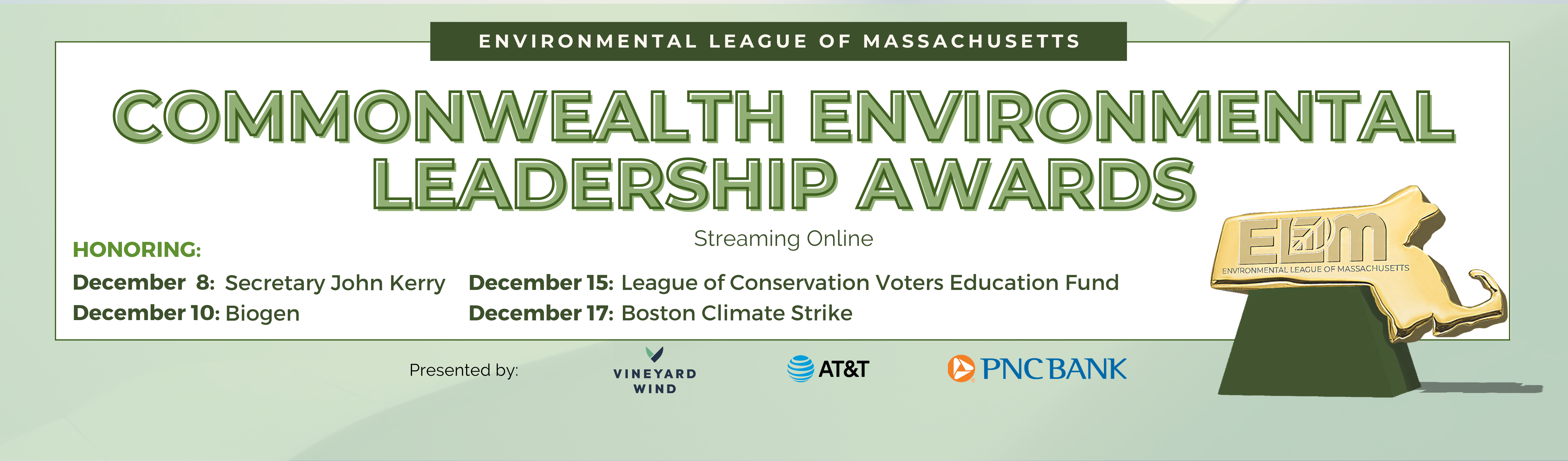 2020 Commonwealth Environmental Leadership Awards