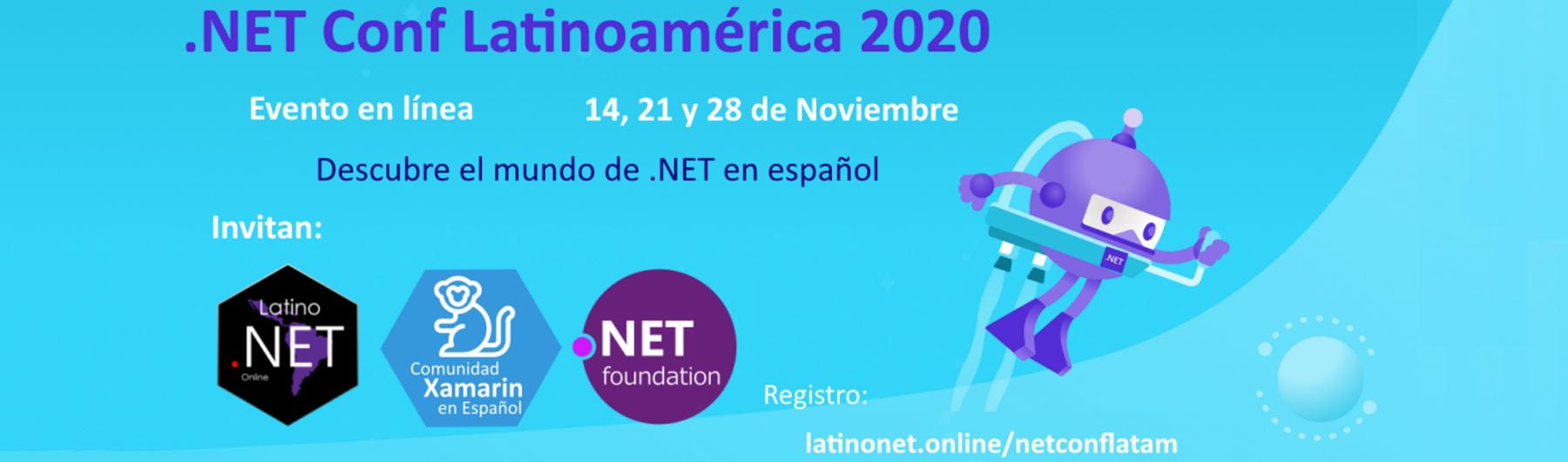 .NET Conf Latinoamérica 2020