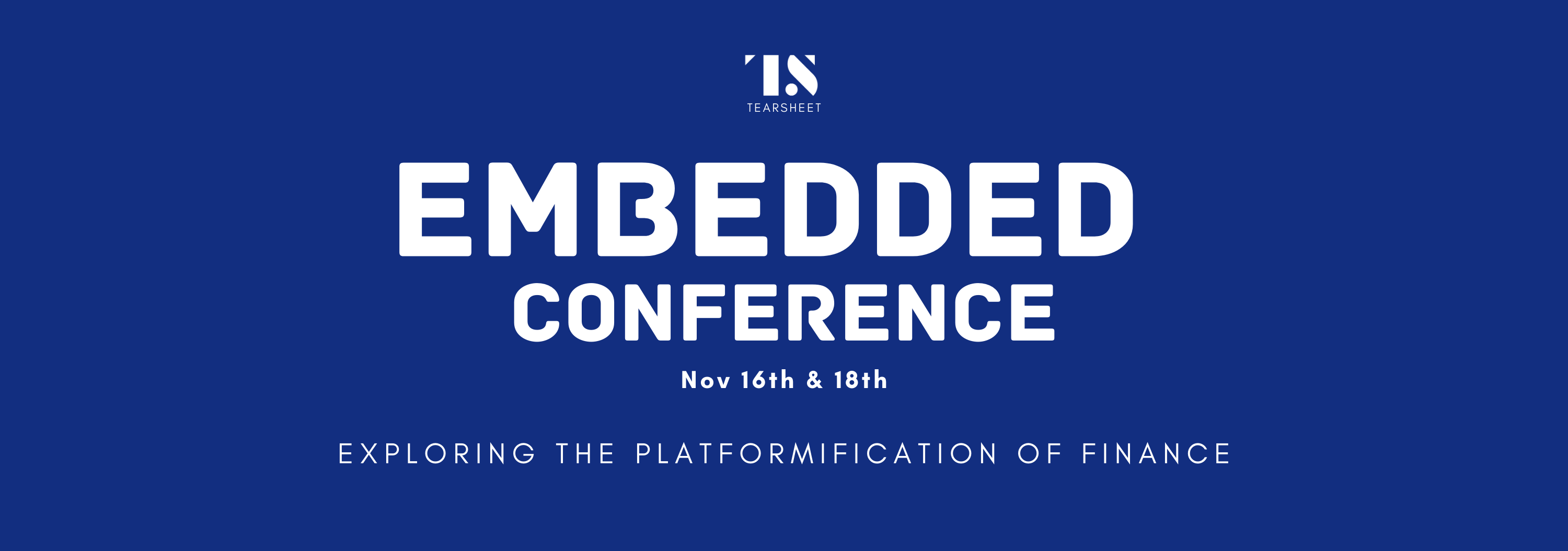 Tearsheet's Embedded Conference 2021
