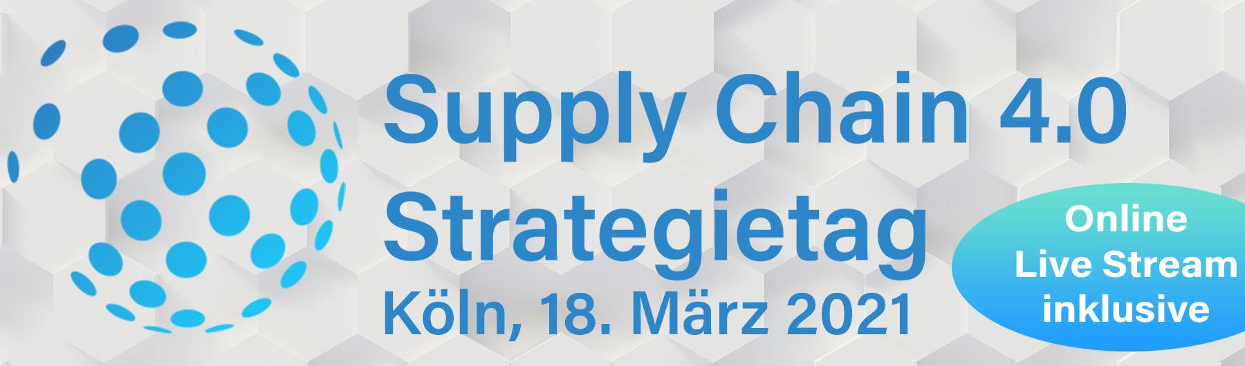 Supply Chain 4.0 Strategietag