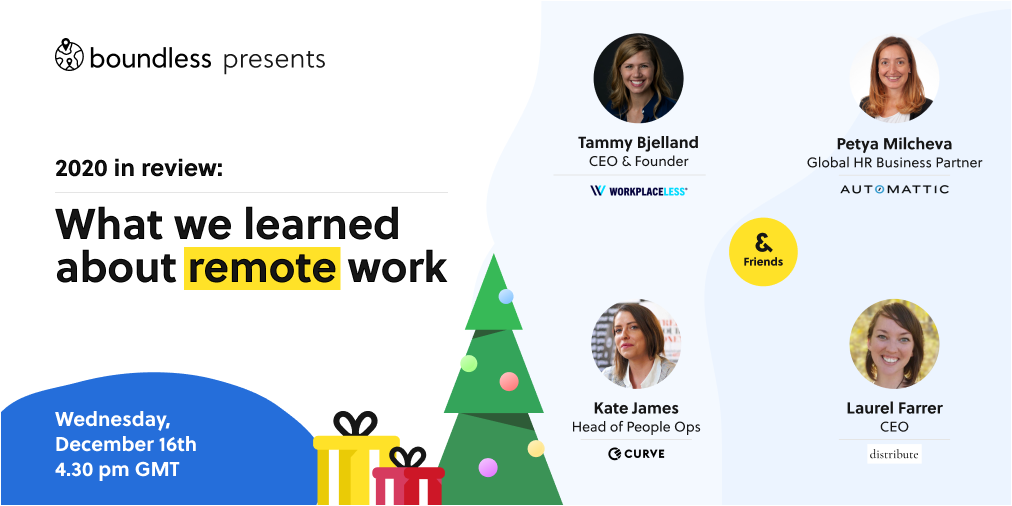 2020 in review: What we learned about remote work