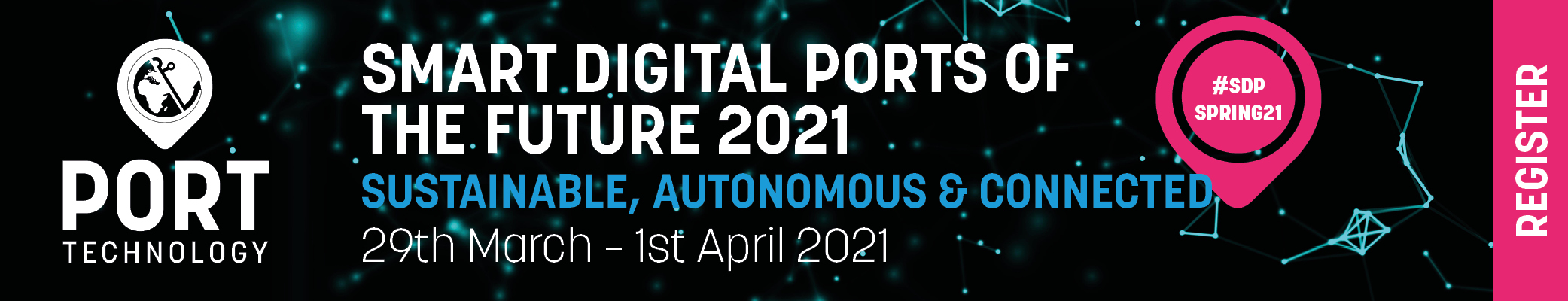 Smart Digital Ports of the Future 2021 - Spring Edition