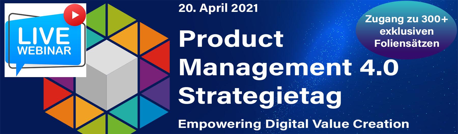 Product Management 4.0 Strategietag 2021