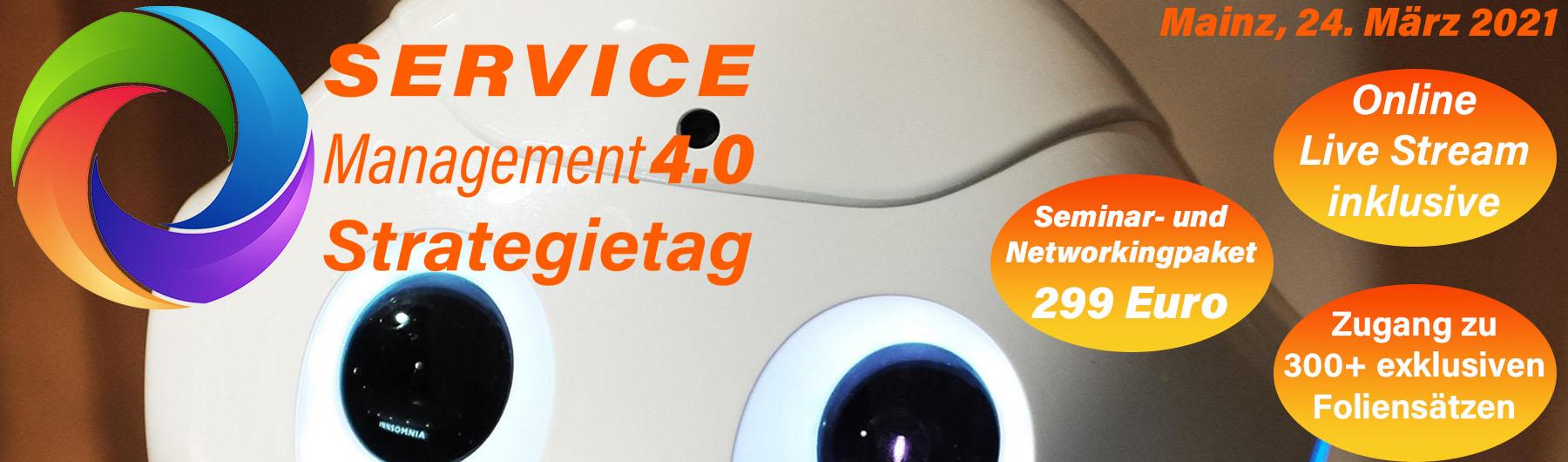 Service Management 4.0 Strategietag 2021