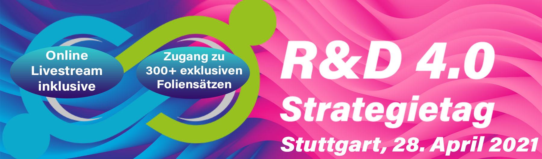 R&D 4.0 Strategietag