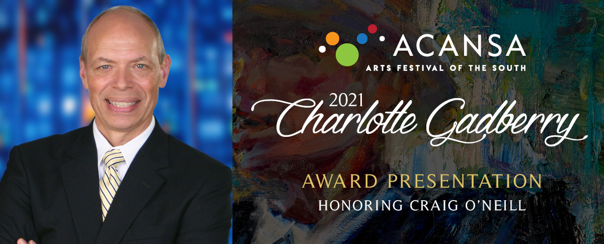 Charlotte Gadberry Award Event Honoring Craig O'Neill