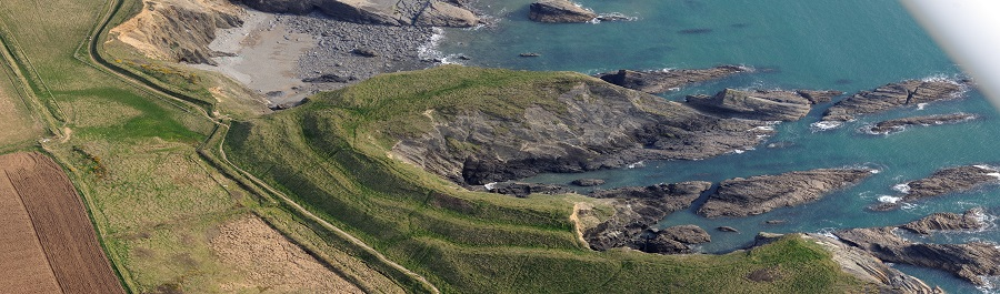 Living on the brink: Uncovering the stories of Pembrokeshire's eroding promontory forts