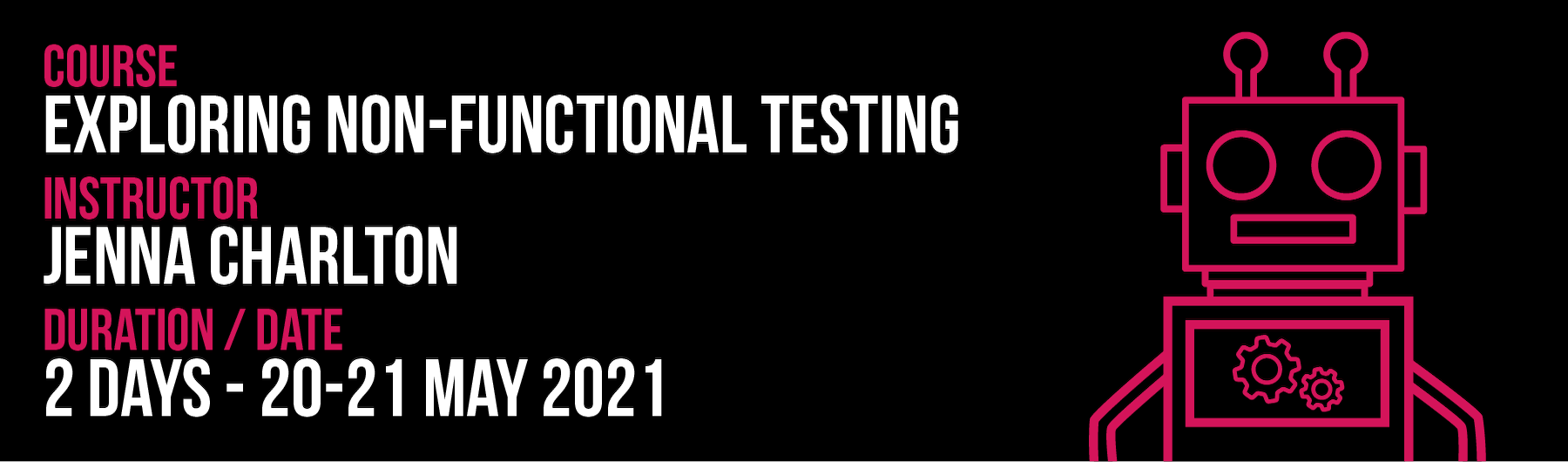 Exploring Non-Functional Testing May 2021