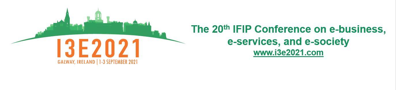 I3E2021 Conference Registration