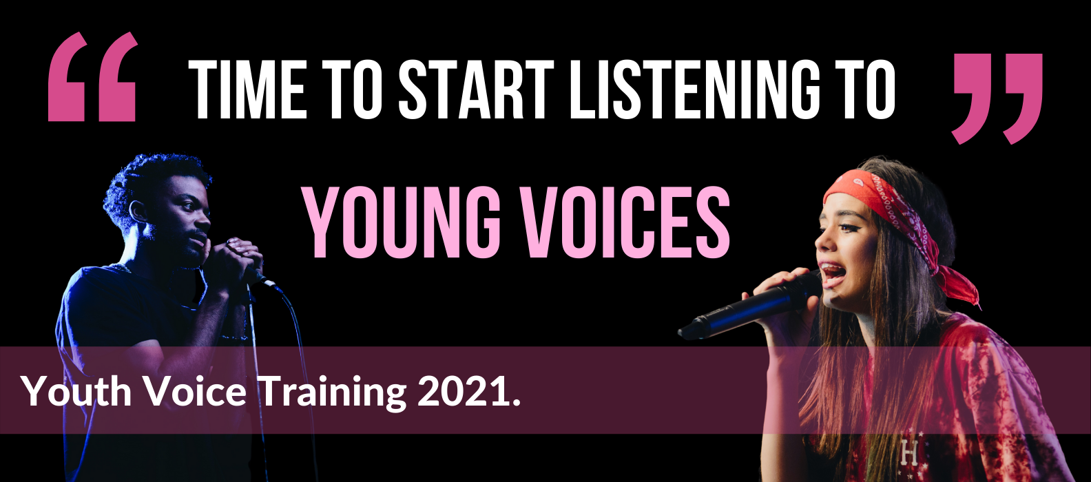 Youth Voice Training July 2021