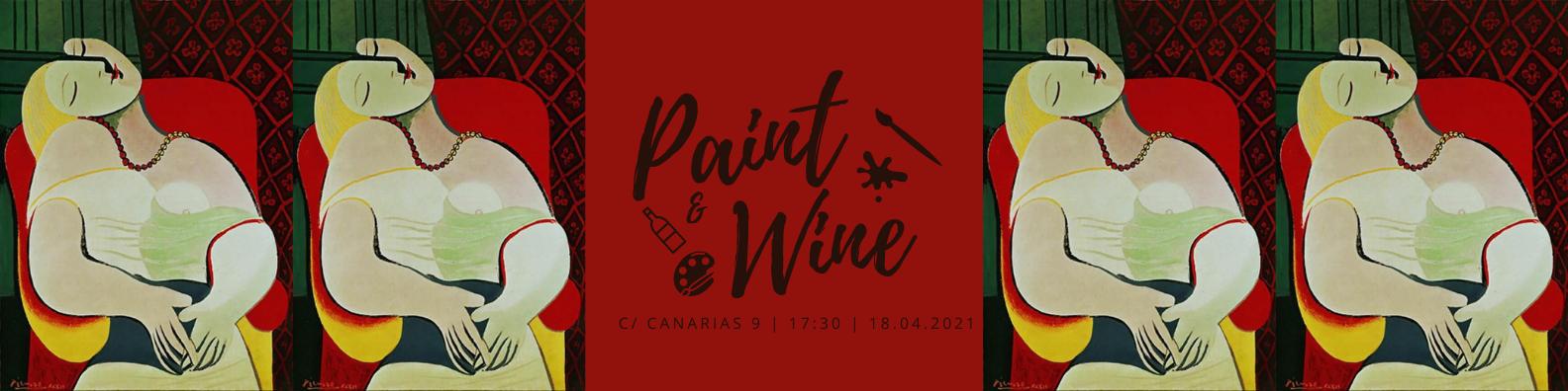 Paint & Wine Workshop: Le Rêve (Picasso)
