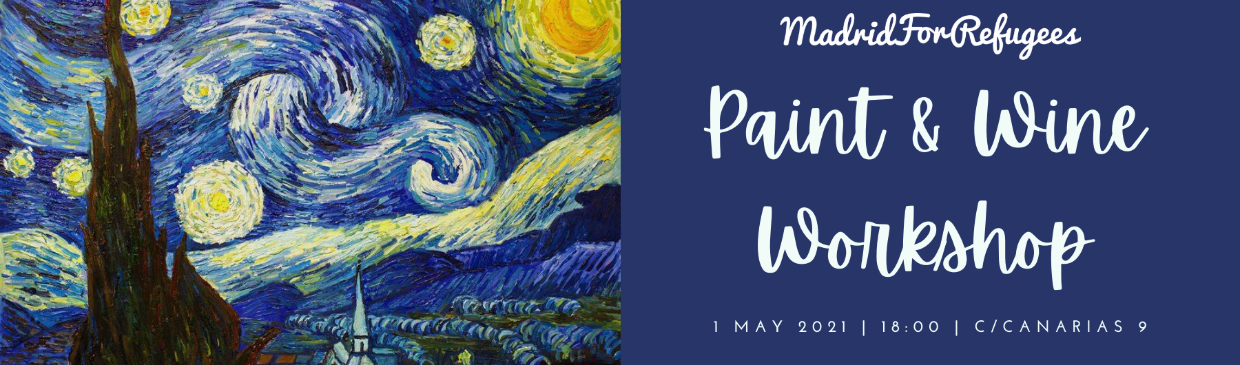 Paint & Wine Workshop: Starry Night