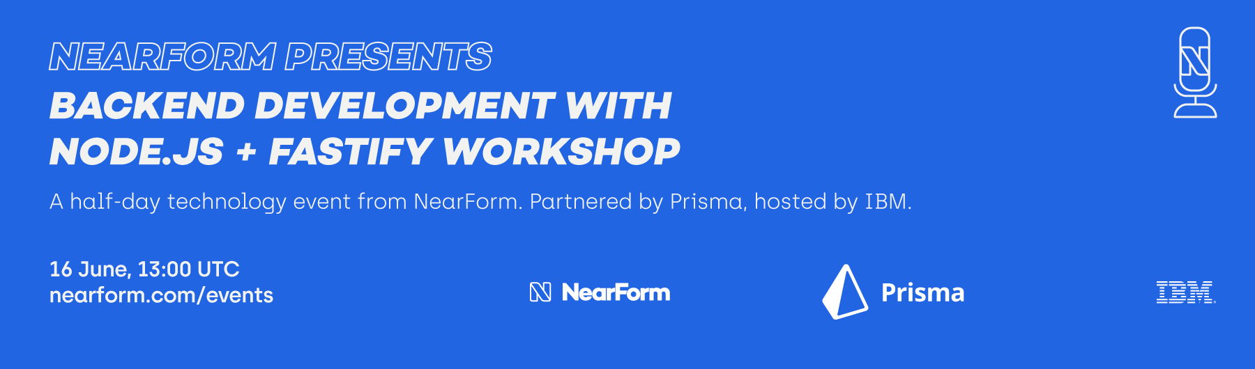 NearForm Presents Backend Development with Node.js