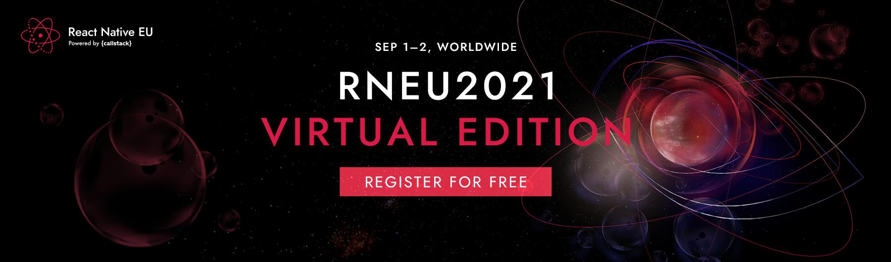 React Native EU 2021 - Virtual Edition