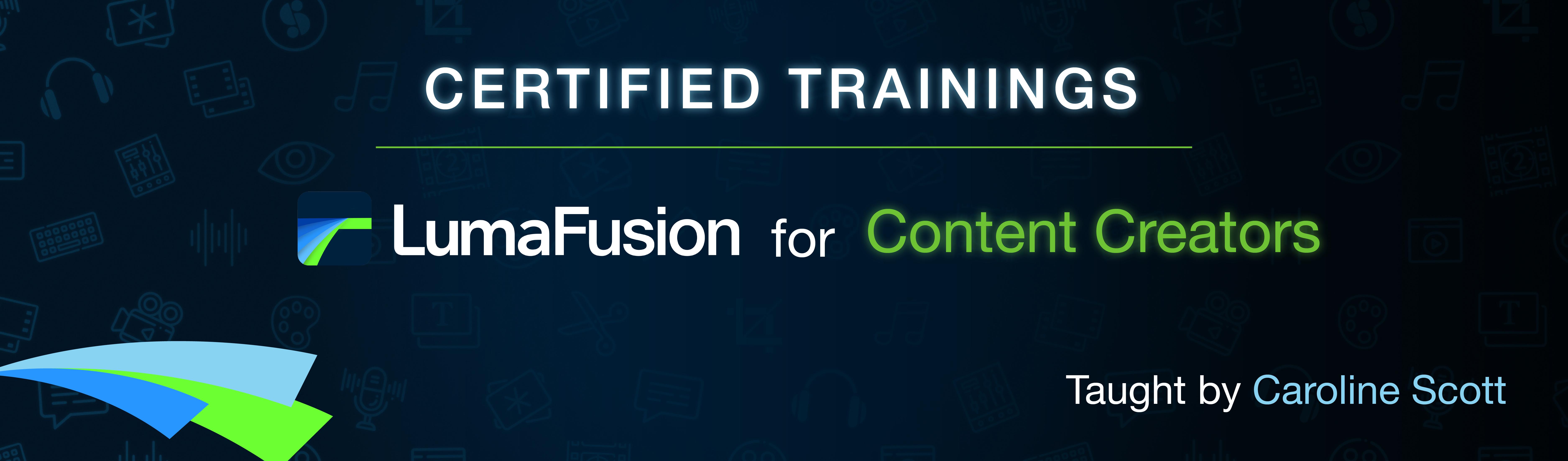 LumaFusion for Content Creators