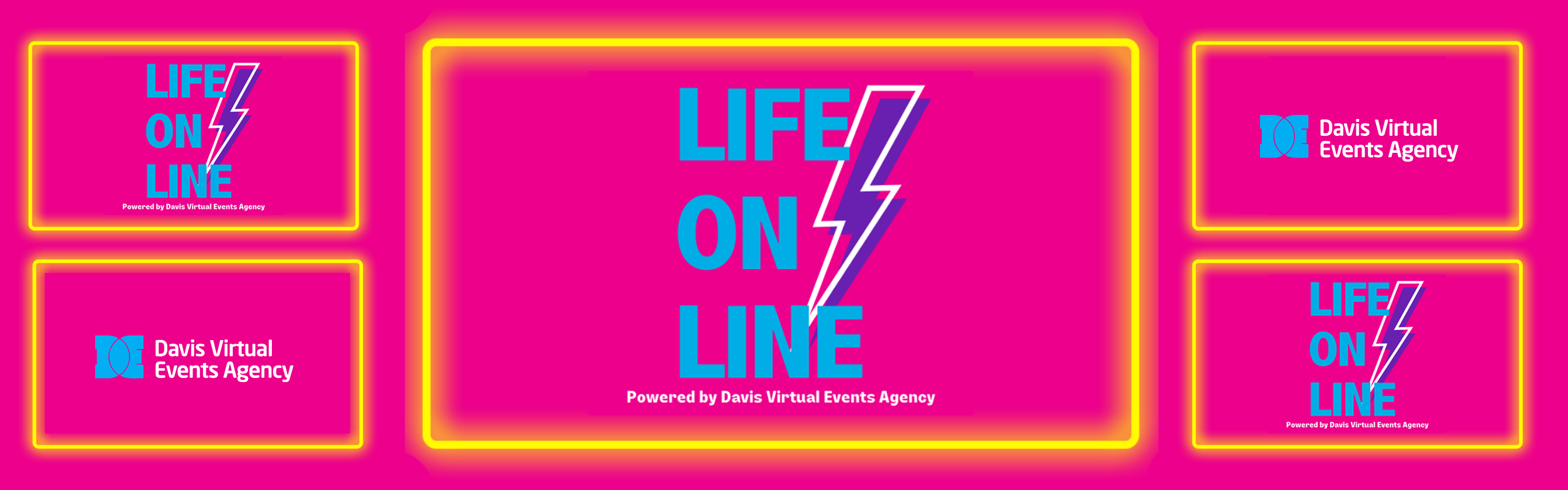 LIFE ON LINE by Davis Virtual Events