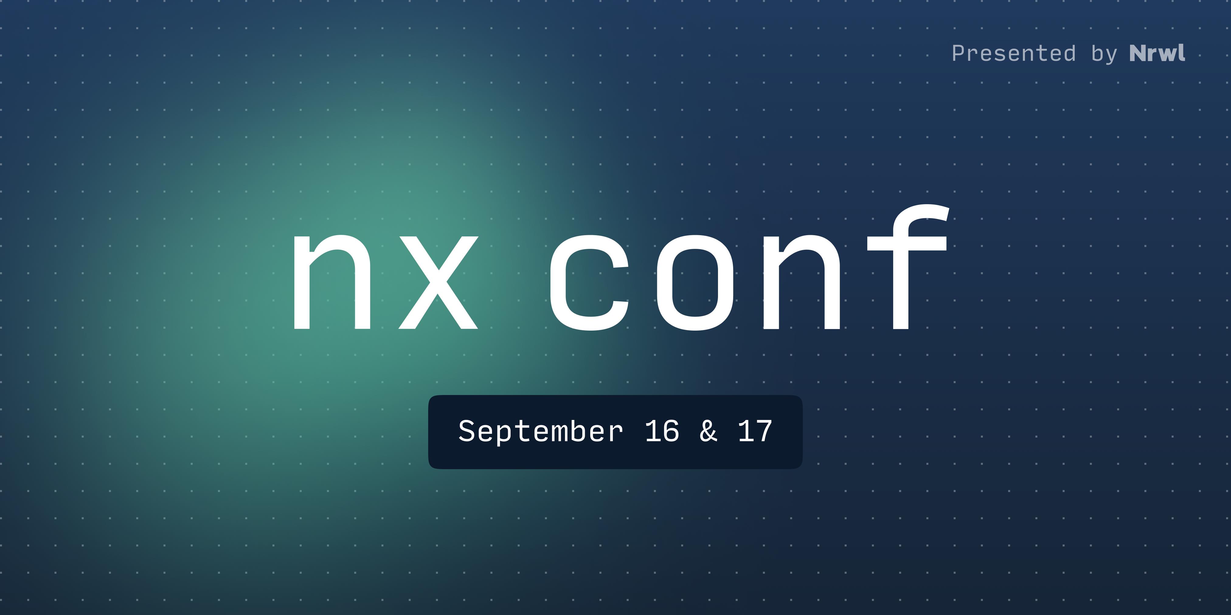 Nx Conf 2021