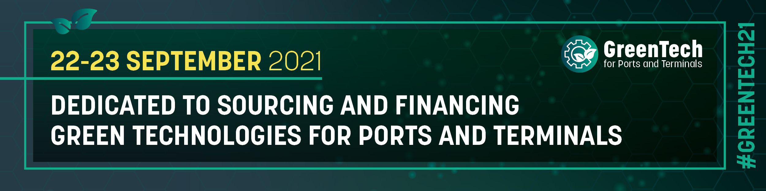 GreenTech for Ports and Terminals 2021