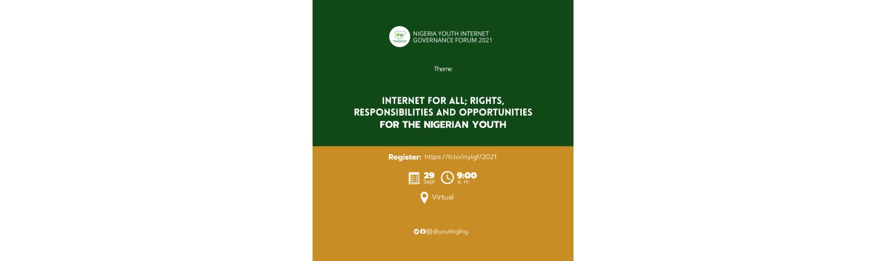 Nigeria Youth Internet Governance Forum 2021