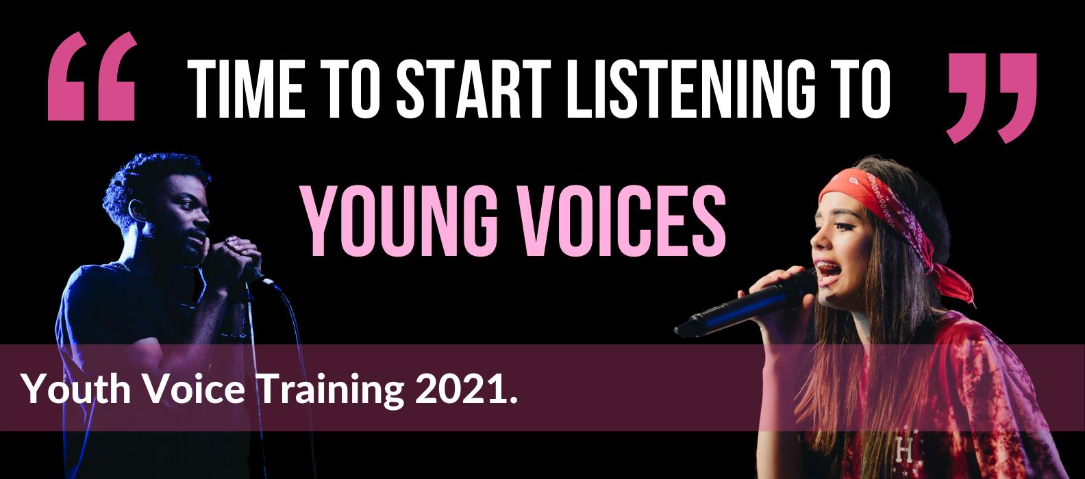 Youth Voice Training November 2021