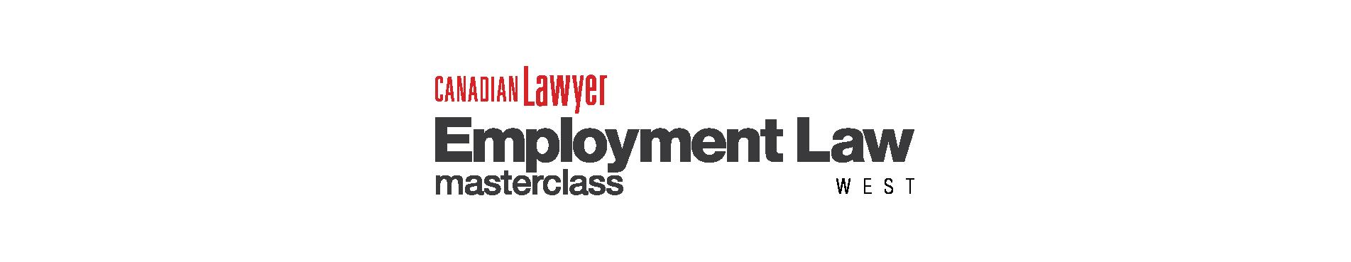 Employment Law West Masterclass