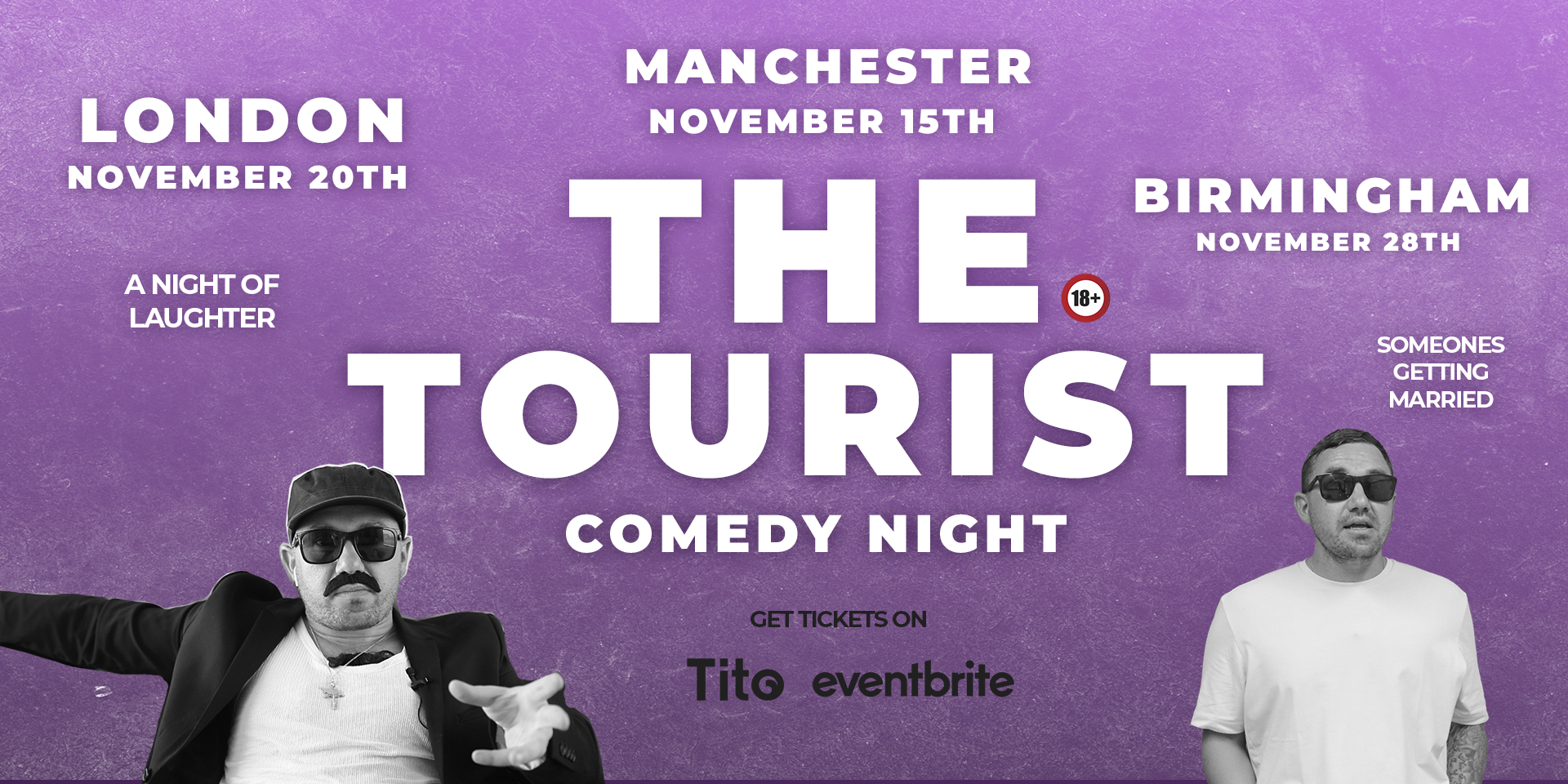 The Tourist Live Comedy Show