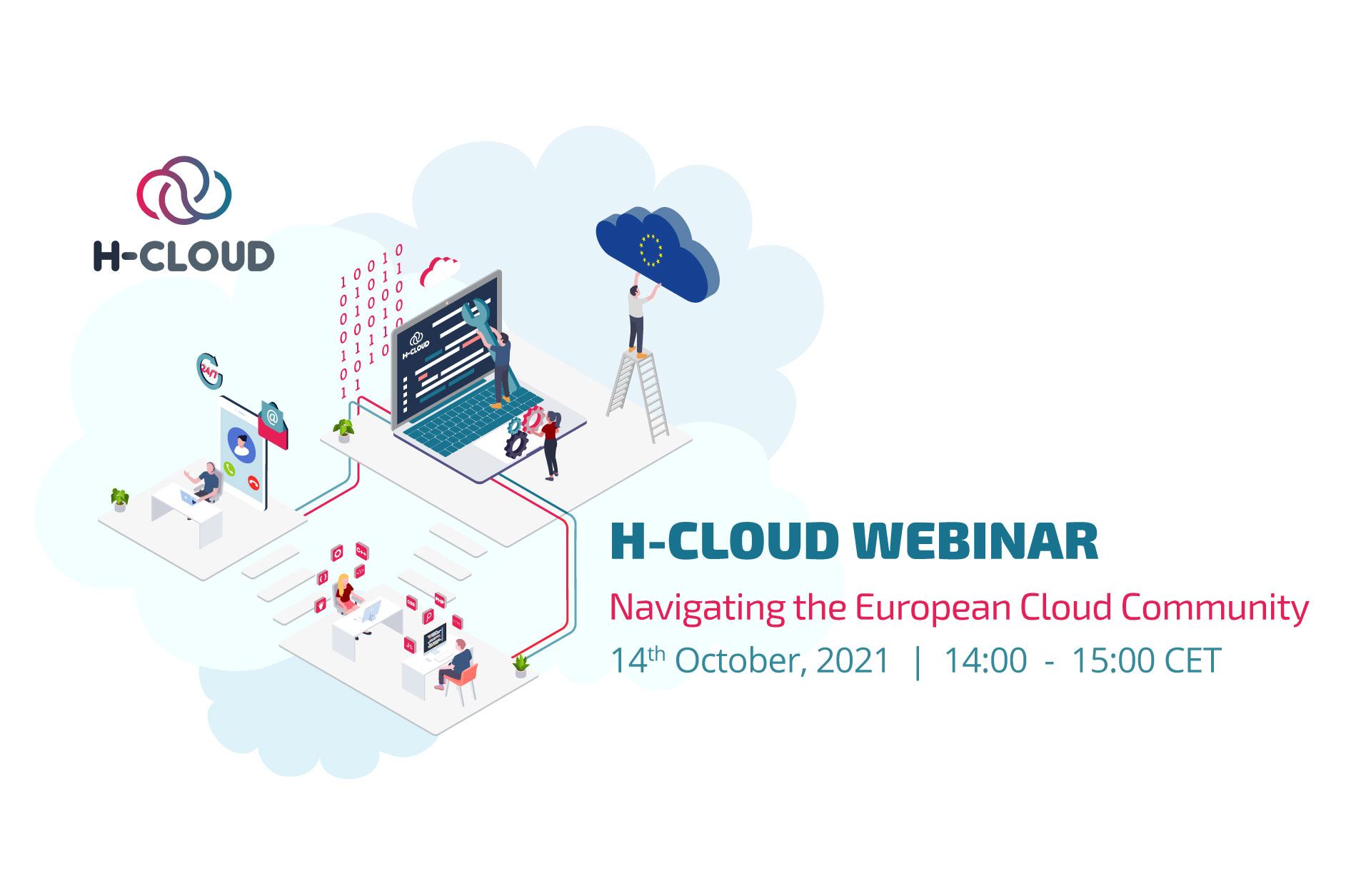 "H-CLOUD Webinar ""Navigating the European Cloud Community"""