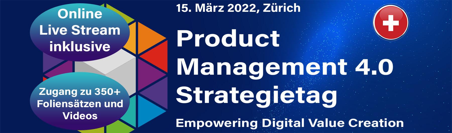 Product Management 4.0 Strategietag 2022