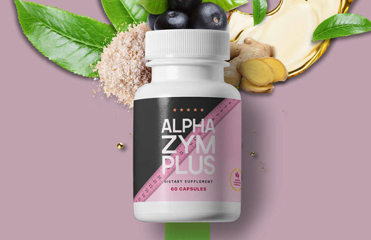 AlphaZym Plus for Weight Loss - AlphaZyme Plus Pills Reviews Updated 2021